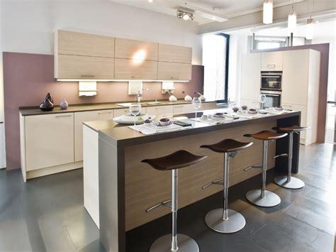 cuisine couleur beige decoration cuisine salon aire ouverte