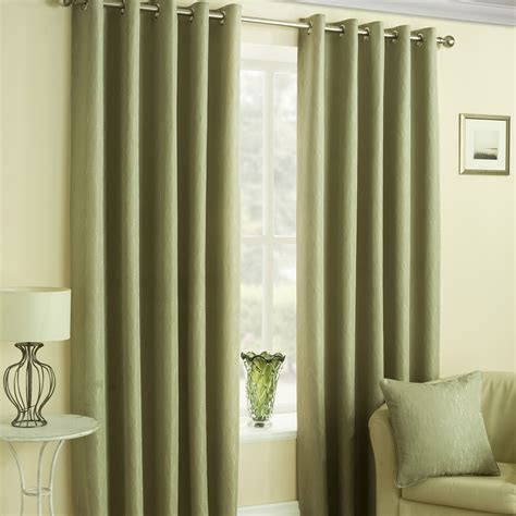 designer eyelet curtains malvern green eyelet curtains