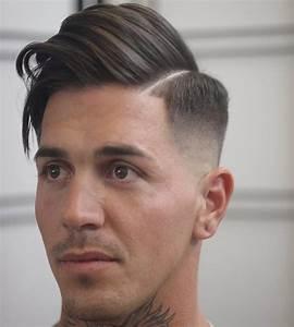Mid Length Mens Hairstyles   Fade Haircut
