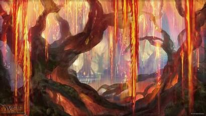 Magic Grove Mtg Wallpapers Gathering Week Zendikar