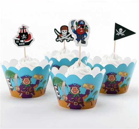 decoration gateau bateau pirate pirate ship cupcake toppers www imgkid the image kid has it