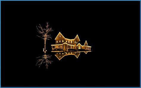screensaver christmas lights download free