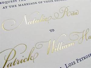 gold metallic luxury wedding invitations foil stamp With gold foil printing wedding invitations uk
