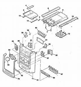 Sony Hi Fi Component System Parts