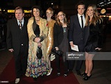 Timothy and Rafe Spall with family arrive at the UK film ...