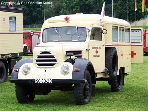 Krankentransportwagen (ktw) Auf Robur Garant 30 K 4x4 Bj