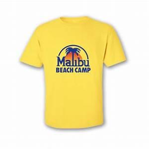 Malibu Beach Camp Yellow Tee Shirt – Malibu Beach Camp