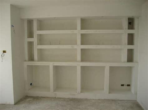 libreria in gesso librerie arredamento giobacasa