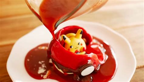 Top Halloween Candy List by Melting Chocolate Pok 233 Ball Reveals Hidden Pikachu Macaron