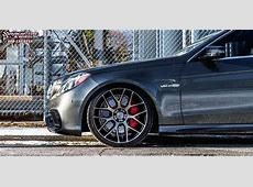 MercedesBenz E63 Niche Intake M159 Wheels Black