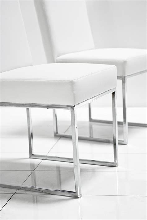 wwwroomservicestorecom  dining chair  white leather