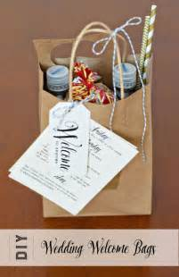 Wedding Guest Welcome Bag Ideas