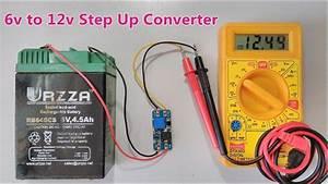 6v To 12v Dc Step Up Converter Using Boost Power Supply