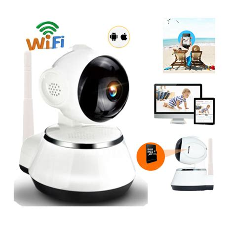 wireless p pan tilt network home cctv ip camera ir