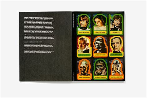 star wars topps classic sticker book paperback abrams