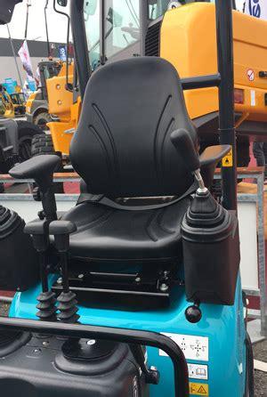 seat fitted  airman cabrio mini excavator unitedseatscom