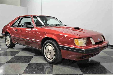 1986 Ford Mustang by Turbo 4 1986 Ford Mustang Svo Classiccars Journal