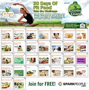Join the 30-Day 'Fit Food' Challenge! | SparkPeople