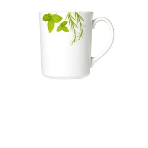 corelle herbs european mug series