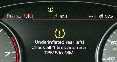 heres   check tire pressure light  coming