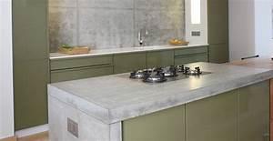 Arbeitsplatte Küche Beton : united colors of beton k che wohnen arbeitsplatten ~ Watch28wear.com Haus und Dekorationen