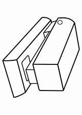 Stapler Drawing Getdrawings sketch template