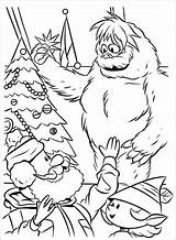 Coloring Pages Yeti Abominable Snowman Printable Getcolorings Print Colorings sketch template