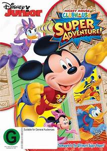 Mickey Mouse Clubhouse Super Adventure Dvd Buy Now
