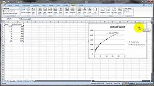 How To Make A Scatter Plot In Excel Curve Fitting With Microsoft Excel Youtube