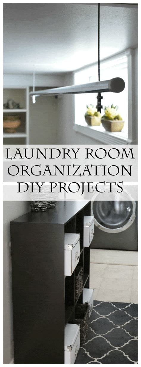 Laundry Room Organization in 3 Easy Steps   Setting for Four
