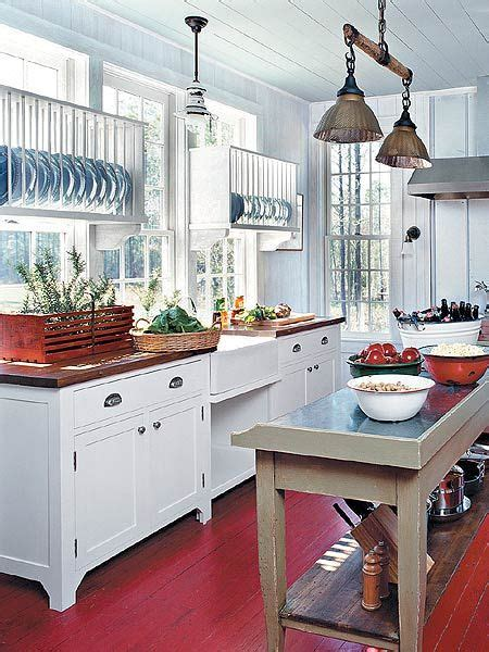 pair  plate racks  windows farmhouse kitchen inspiration kitchen design kitchen remodel