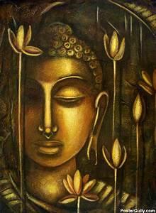 Buy Paintings Online | Lord Buddha Artwork | Artist: Raji ...