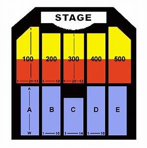 Borgata Seating Chart The Borgata Event Center Seating Chart Ticket Solutions