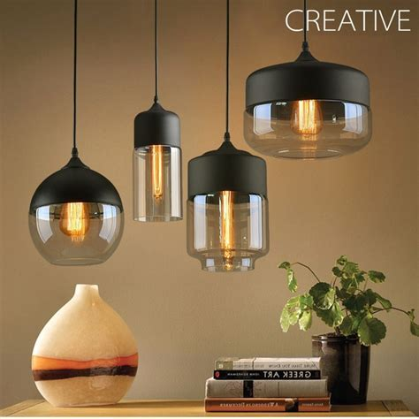 LukLoy Modern Pendant Lamp Lights Kitchen Island Dining