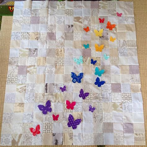 butterfly quilt pattern swarm a butterfly rainbow quilt blossom quilts