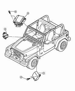 2004 Jeep Wrangler Module  Transmission Control  Modules