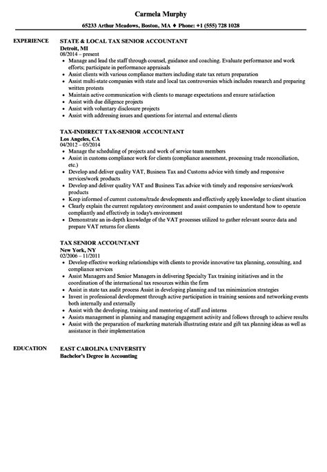Accountant Resume by 10 Experienced Accountant Resume Resume Sles