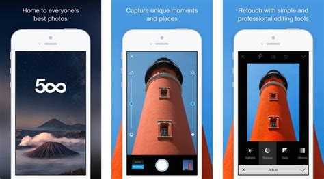 500px app gets a built in editing iphone 6 support more iclarified