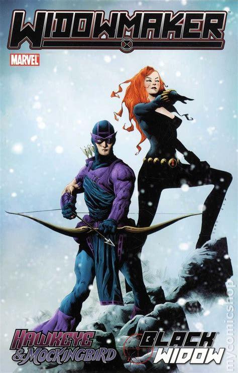 Widowmaker Tpb Marvel Hawkeye Mockingbird Black