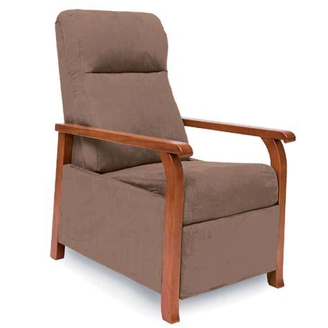 fauteuil de repos classic bois manuel domitec