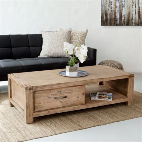 Wooden Tables For Sale by Vancouver Acacia Wood Coffee Table For Sale