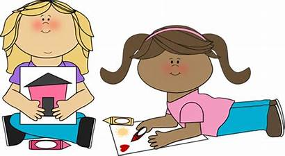 Coloring Clipart Clip Crayon Cliparts Sharing Children