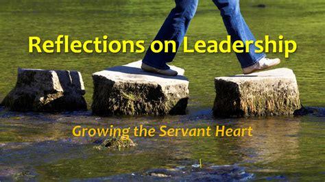 gtsh  jesus model reflections  leadership