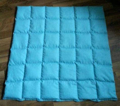 Schwere Decke Selber Machen gewichtsdecke gewichtskissen kugeldecke sanddecke