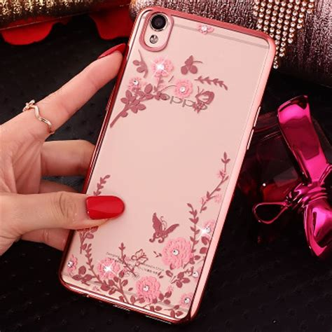 Jual TPU Flower OPPO A37 Neo 9 Silicone Diamond Soft Case