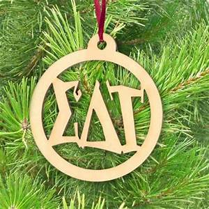greek fraternity sorority greek engraved ball ornament With greek letter ornaments