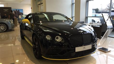 bentley continental gt speed black edition exterior  interior review youtube