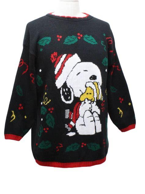 snoopy sweater retro 1980s vintage snoopy sweater 80s