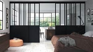 Fenetre Interieure Dans Cloison : mur de verre fen tre verri re cloison que choisir ~ Melissatoandfro.com Idées de Décoration