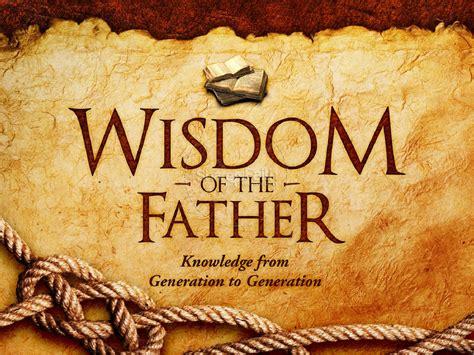 wisdom   father powerpoint template